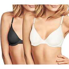 Maidenform® One Fab Fit® T-Shirt Bra 2-Pack