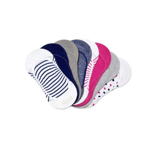 June & Daisy Low Cut Liners Socks 8 Pair Pack