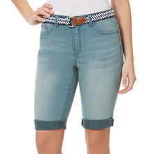Designer Women's Riley Belted Bermuda Short