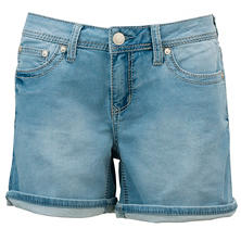 Women's Knit Denim Short
