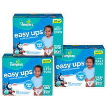 Pampers Easy Ups Training Pants for Boys Pick 3 Bundle (Choose Your Sizes)