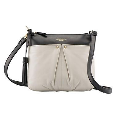Convertible Smooth Soft Leather Crossbody