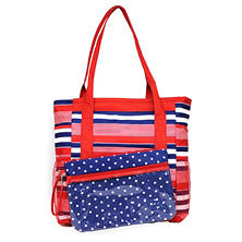 High Tide Beach Tote with Lounge Cover