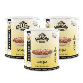 Augason Farms Lasagna Super Can (#10 can, 3 pk.)