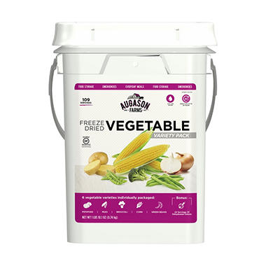 Augason Farms Vegetable Variety Bucket (4-gallon pail)