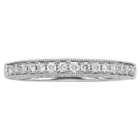 .25 CT. T.W. Vintage Diamond Ring in 14K Gold