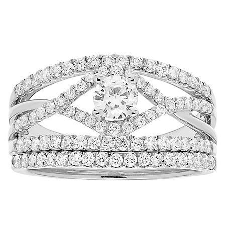 1.00 ct. t.w. Diamond Bridal Set in 14K Gold