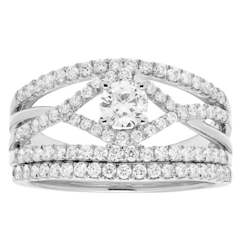 1.00 ct. t.w. Diamond Bridal Set in 14K Gold