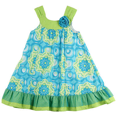 Girls' Turquoise Dress