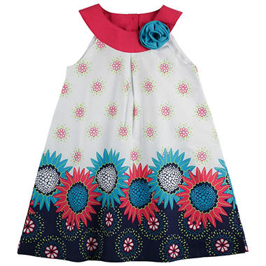 Penelope Mack Girls' Sunflower Dress