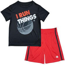 Champion Boys' Toddler Active Set