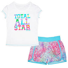 Skechers Girl's Total All Star Toddler Active Set