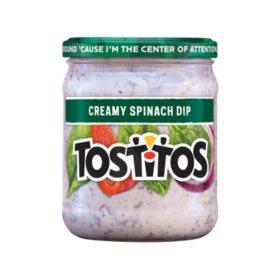 Tostitos Creamy Spiniach Dip (15.5 oz ea., 6 ct.)