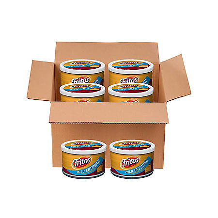 Fritos Mild Cheddar Flavored Cheese Dip (9 oz., 6 pk.)