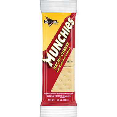 Munchies Nacho Cheese Flavored Sandwich Crackers (32 pk.)