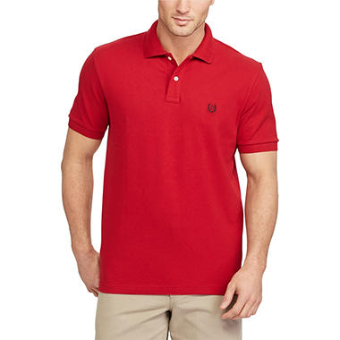 Chaps Short Sleeve Polo Shirt - Sam s Club 954fb1438