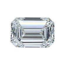 Premier Diamond Collection 1.21 CT. Emerald Cut Diamond - GIA (G, VVS2)