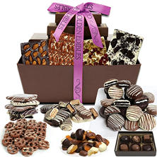 Mother's Day Artisan Delectable Chocolate Gift Basket