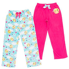 Member's Mark Girl's 2-Pack Sleep Pants