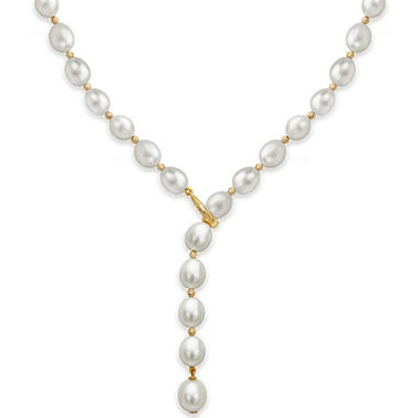 8-9MM Freshwater Pearl with Beads 19.5