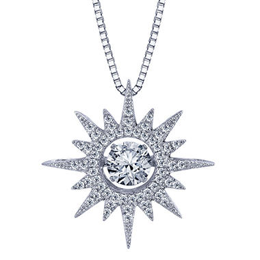 topaz products satya moon white jewelry and sun necklace