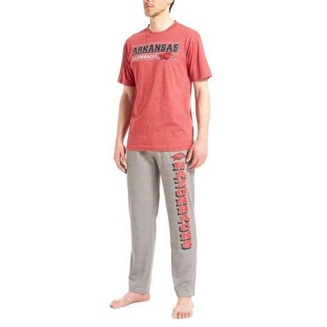 NCAA Men's Pant and Short Sleeve Top Set