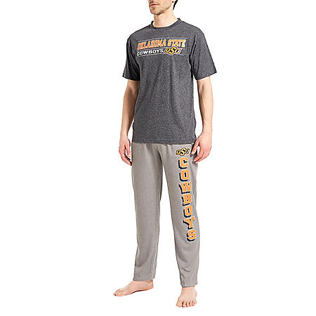 NCAA Men's Pant and Short Sleeve Top Set