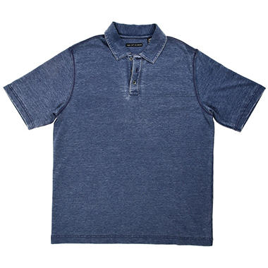 Age of Wisdom Men's Burnout Polo