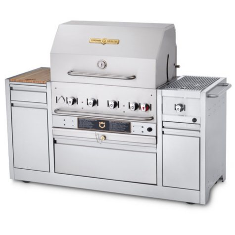 Crown Verity Hotel Series Grills MBI-30I Natural Gas