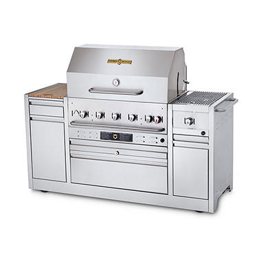 Crown Verity Hotel Series Grills MBI-36I Liquid Propane