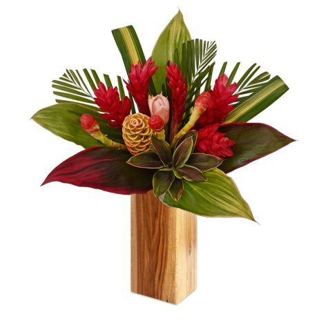 Tropical Fire Bouquet With Ginger (vase not included, 1 or 2 pack)