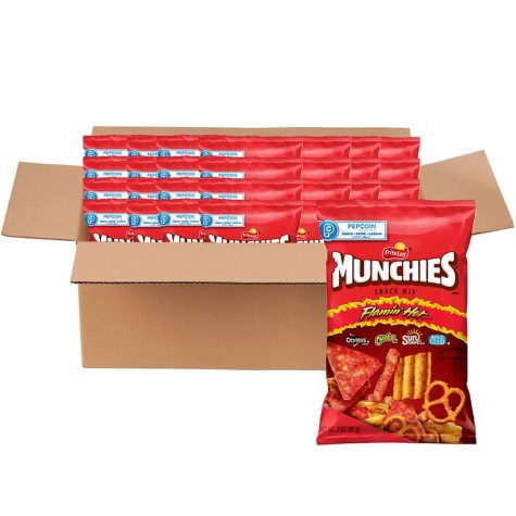 Munchies Flamin' Hot Snack Mix (3 oz., 28 ct.)