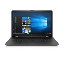 "HP 17.3"" HD+ Notebook, Intel Core i7-7500U DC Processor, 16GB Memory, 2TB Hard Drive, 4GB Radeon 530 Graphics, HD Webcam, Backlit Keyboard, Optical Drive, Windows 10 Home"