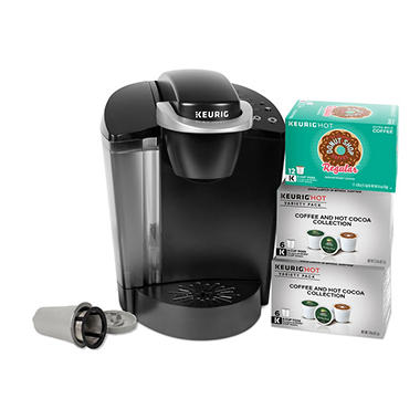 Keurig K50c Coffee Maker With 24 Pods And Reuseable Coffee