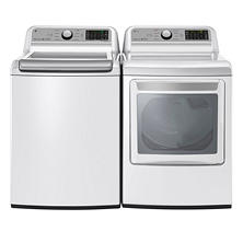 LG WT7200CW and DLG7201WE Laundry Suite, Gas