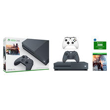 Xbox One Console with Extra Controller and Xbox Live Gold Membership e-Gift Card Bundle