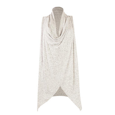 Olivia Sky Ladies' Cozy Convertible Sleeveless Cardigan