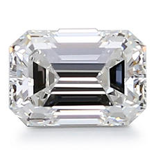 Premier Diamond Collection 0.85 CT. Emerald Cut Diamond - GIA (F, VVS2)