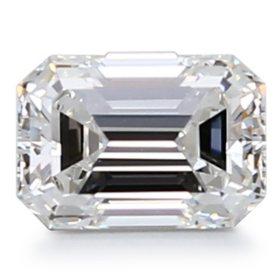 Premier Diamond Collection 0.85 CT. Emerald Cut Diamond - GIA (F, VVS2)