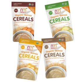 NurturMe Organic Quinoa Cereal - Pick 4 Bundle (3.7 oz.)