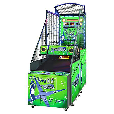 Free Throw Frenzy Basketball Game