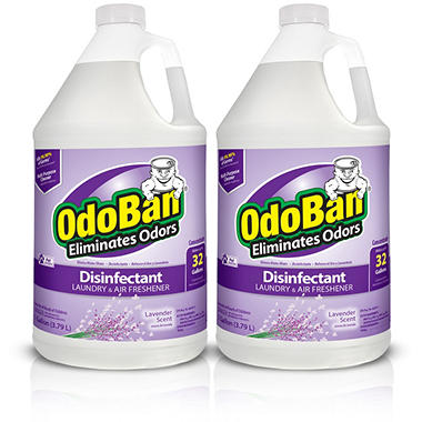 OdoBan Odor Eliminator and Disinfectant Concentrate, Lavender Scent (128 oz., 2 ct.)