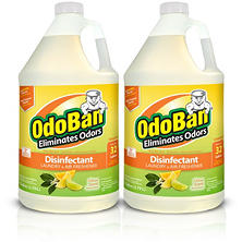OdoBan Odor Eliminator and Disinfectant Concentrate, Citrus Scent (128 oz., 2 ct.)