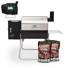 Green Mountain Grills Davy Crockett Wi-Fi-Enabled Grill and VIP Accessory Bundle