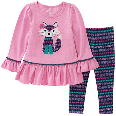 Kids Headquarters Girls' Fox 2-Piece Play Set