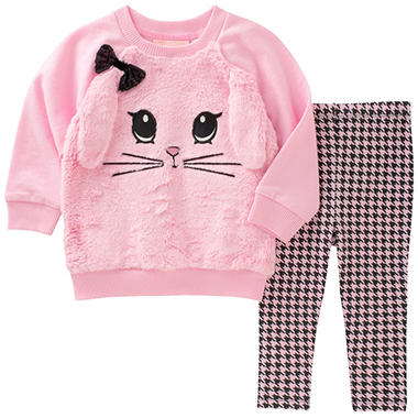Kids Headquarters Girls' Bunny 2-Piece Play Set