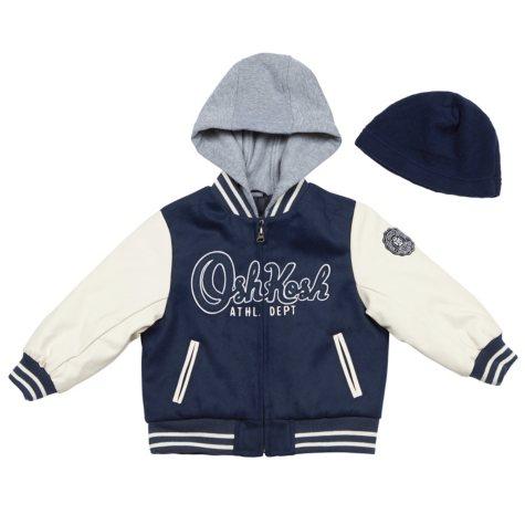 OshKosh Boys' Varsity Jacket
