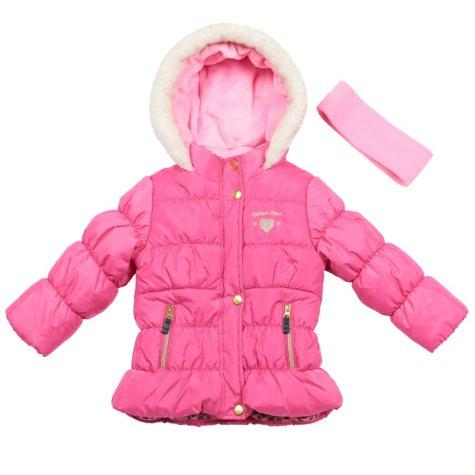Osh Kosh Girls' Taffeta Bubble Coat