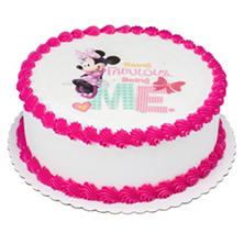 "Member's Mark 10"" Minnie Mouse Round Cake"