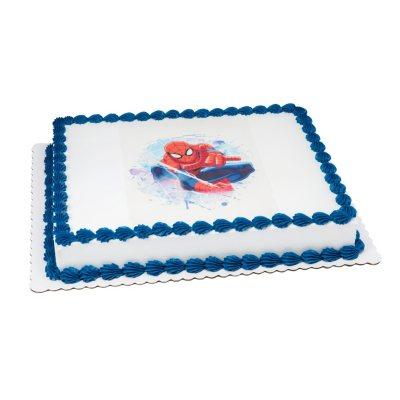 Members Mark 12 Sheet Ultimate SpiderMan Cake Sams Club